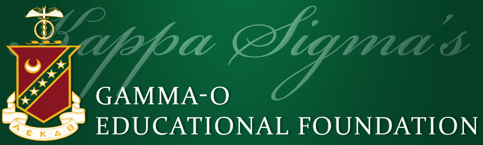 Kappa Sigma's Gamma-O Educational Foundation
